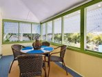 Florida Room Offers Additional Dining Space