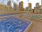 The Pool Deck and Hot Tub