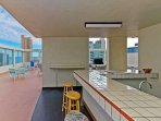 Available Rooftop Kitchen Area