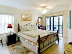 Bedroom 1/Master | King Bed & Bay View