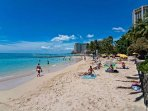 The Royal Kuhio is a VERY Short Stroll to Waikiki's Best Beaches