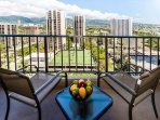 Breezy 19th Floor Mountain And City Views