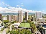 Waikiki City Life and Mountain Valley Views!
