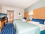 Two Double Beds and Sleep Comfortably 4 Guests
