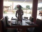 Dining at The Hub Restaurant