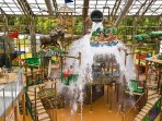 Kids Play Zone at the indoor water park