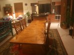 slightly sublime silky oak dining table