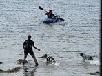 For people and doggies, Melfort Pier is the place to have fun