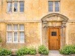 Halfway House has an impressive front doorway