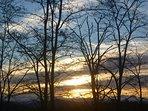 spectaculaire zonsondergangen