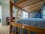 Kids will love the bunk beds!  The bottom is now a Full Size (Sleeps 2).