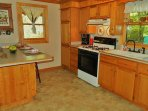 Create your favorite romantic meal in the fully-equipped kitchen off the living room.