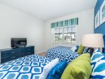 two twin/full bedroom
