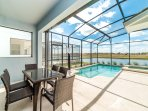 dine on your pool deck