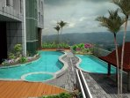 Outdoor pools at the 9th Floor of Tower 3 (FREE OF USE)