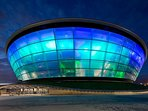 SSE Hydro, the 8th largest music venue in the world is just a short train journey away