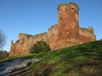 Take in some local history with a visit to Bothwell Castle, built in the 1200s! Situated on the Rive