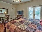 2nd Flr King Bedroom #2 w/ en-suite bathroom, private balcony and walk-in closet