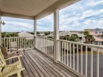 3rd Floor Balcony with expansive views