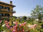 South of Rome.  Ground Floor apartment with large garden