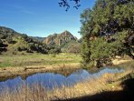 Malibu Creek State Park is only 5 minutes away