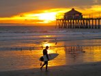 Enjoy surfing on California Malibu beaches