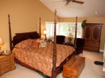 Master Suite Ethan Allen Four Poster Bed and Upscale Furnishings