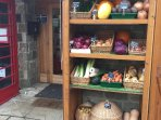 Our village shop, yards from the cottage