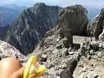 Auch Klettersteigfreunde und Kletterliebhaber kommen bei uns auf Ihre Kosten.