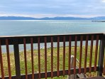 Balcony accessible from master and bedroom 4. Our pier is the biggest in Tahoe.