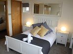Master bedroom with en suite & fitted wardrobes