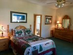 Huge, very private master suite occupies the entire third floor. Best views of Tahoe from up here!