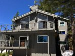 BBQ, dine, and stargaze above Lake Tahoe from huge wraparound middle floor deck.