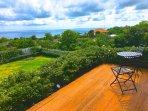 Upper terrace sun deck