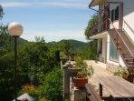 La Gallina Bianca, appartement voor 7 pers., veel privacy en schitterend uitzicht
