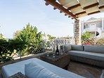 Villa 1 - Veranda of living room