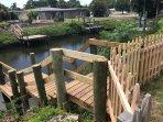 Back yard (private dock)