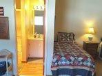 Loft w/ Bathroom #2. Towels, Hand Soap, Mini Shampmoo & Conditioner Provided