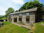 Secluded setting with amazing views for your holidays in Mid Wales