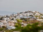 Landscape of Pyrgos village