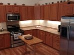 fully equipped +extras kitchen