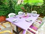 Garden Dining table.