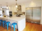 stainless steel appliances- 388 Main Street (The Priscilla House) Chatham Cape Cod New England Vacation Rentals