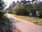 Bike path access just off Depot-South Harwich Cape Cod New England Vacation Rentals