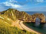 Durdle Door on Dorset's Jurassic coast