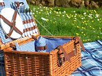Free picnic hampers supplied in every cottage so you can enjoy our grounds.