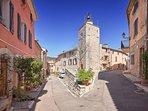 Cabris - village.