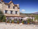 Cabris - little village with plenty of restaurants and charming cafés.