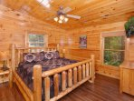 On the upper level, you will find two more bedrooms, both with king beds