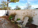 Fenced in Backyard with Patio and Outdoor Dining